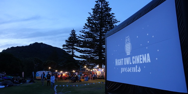 The Night Owl Cinema will bring outdoor film across the Bay this summer after high demand and increased support has allowed the show to go on the road.  PHOTO/SUPPLIED