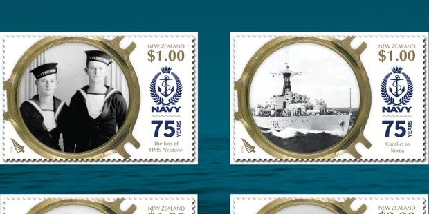 The new stamps will be available to buy online or from NZ Post outlets tomorrow. Photo / Supplied