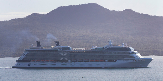 Cruise ship Celebrity Solstice will arrive in the Bay of Islands tomorrow from 7am.