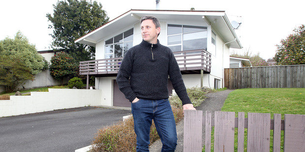 Loading Mark Janssen is stoked with his newly bought Springfield home. PHOTO/ANDREW WARNER