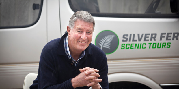 Cruising: Silver Fern Scenic Tours owner-operator Pat Lally has just entered the cruise ship tourist market. Photo/Andrew Warner.
