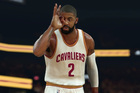 A screenshot from the anticipated basketball video game NBA 2K17.