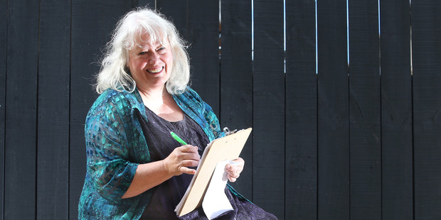 Rosealie Crawford has placed her vote.  Photo/John Borren