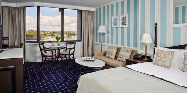 Executive Room at the Riverview Hotel, Brisbane.
