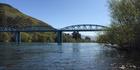 The famous-in-Central blue bridge.