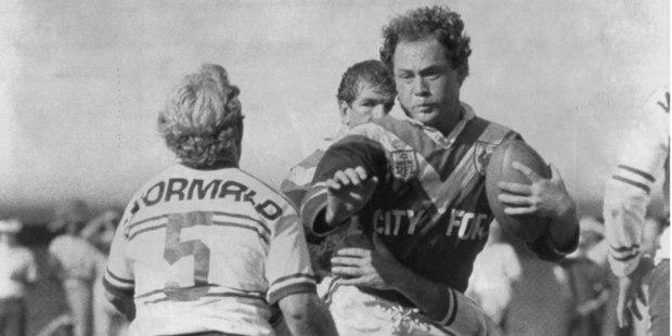 Dane Sorensen, a NZ rugby league player. Photo / News Ltd
