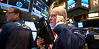 The Dow Jones slipped 0.1pc, while the Nasdaq Index fell 0.2pc. Photo / AP