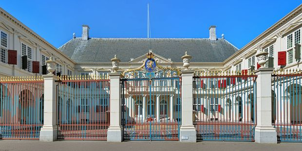 Noordeinde Palace, one of the three official palaces of the Dutch Royal family. Photo / 123RF