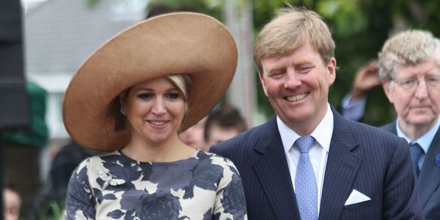 Loading King Willem-Alexander and his wife, Queen Maxima. Photo / 123RF