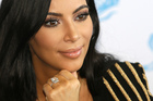 Kim Kardashian may have had her engagement ring stolen in the robbery in Paris. Photo / AP