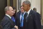 New tension between Russian President Vladimir Putin and U.S. President Barack Obama. Photo / AP