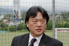 In this Dec. 2, 2008, file photo, Eduardo Li, then-president of Costa Rica's National Soccer Federation, is shown in Santa Ana, Costa Rica. Photo / AP