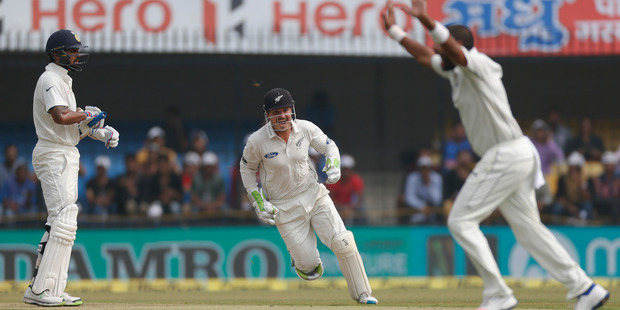 India in control after declaring at 557-5 vs New Zealand