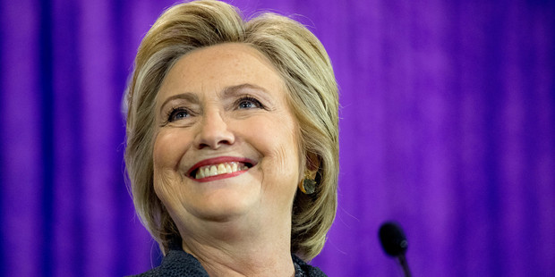 Democratic presidential candidate Hillary Clinton has been busy on Twitter. Photo / AP