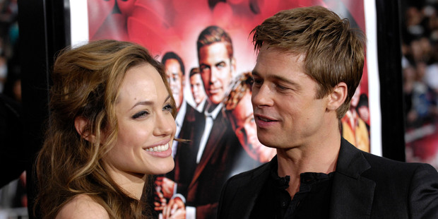 Angelina and Brad's divorce keeps us feeling good about ourselves. Photo / AP