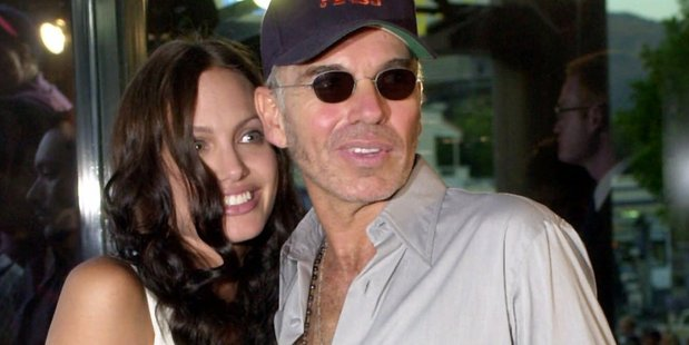 Angelina Jolie with her ex husband Billy Bob Thornton in 2001. Photo / AP