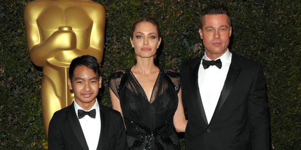 Angelina Jolie filed for divorce from her husband Brad Pitt and is demanding sole physical custody of their six children. Photo / AP