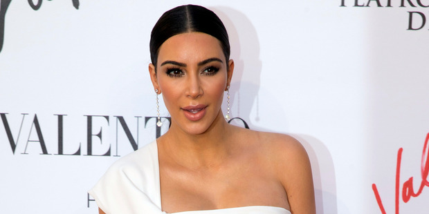 It has been said Kim Kardashian  embodies everything that is wrong with the world. Photo / AP