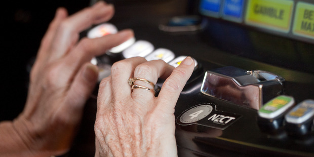 Bay gamblers poured an extra $2 million into pokie machines in the last 12 months. Photo/FILE