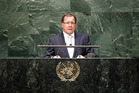Foreign Minister Murray McCully at the United Nations. Photo / United Nations