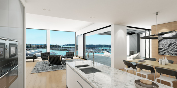 Loading An artist's impression of how the Wynyard Central penthouse could look once it is built by March, 2018.