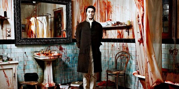 Taika Waititi in his movie 'What We Do in the Shadows.' Photo / Supplied