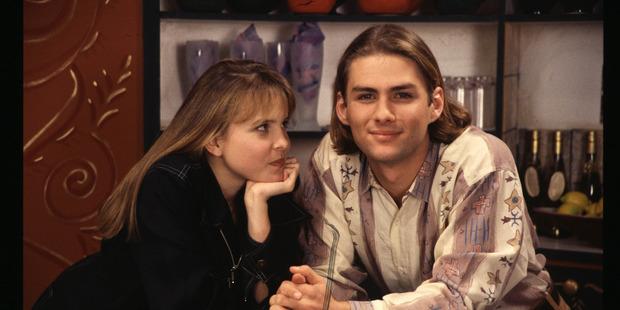 Rachel McKenna with her brother Jonathan.