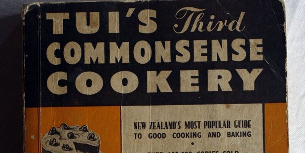 One of Tui Flower's cook books, published in the 1950s. PHOTO/Dean Purcell
