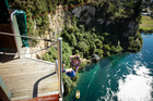 A photo of you bungy jumping posted to Facebook could add to the cost of your insurance premium in the future, says insurance expert Michael Naylor. Photo / Michael Craig