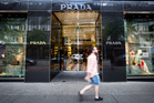 The Prada store in the luxury shopping zone of Queen St. Photo/Dean Purcell.