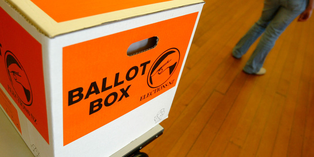 Throughout the country, preliminary voting statistics based on those who have already sent in their postal votes are mostly negative. Photo / Richard Robinson