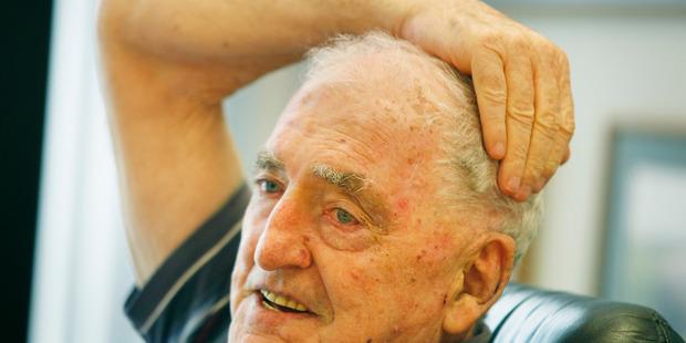 The late businessman and philanthropist Hugh Green. Photo / Steven McNicholl.