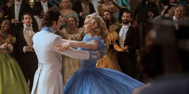 Lily James is Cinderella and Richard Madden is the Prince in Disney's live-action feature inspired by the classic fairy tale, Cinderella.