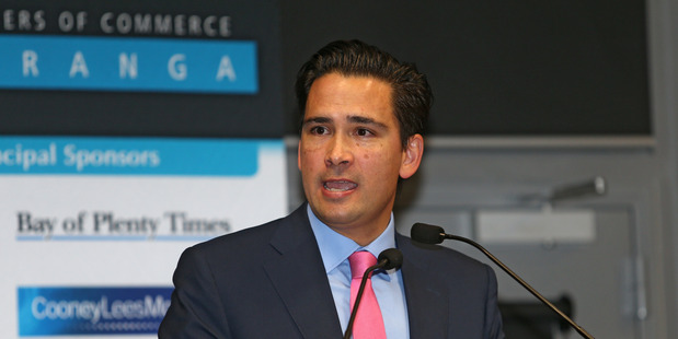 Tauranga MP Simon Bridges says investor confidence is the Western Bay region and economy is very high.