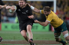 All Blacks hooker Dane Coles in action against Australia. Photo / Brett Phibbs