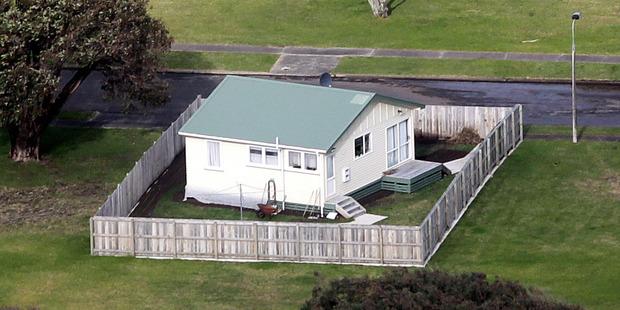 Stewart Murray Wilson's  house inside Whanganui prison grounds. PHOTO/BEVAN WILSON