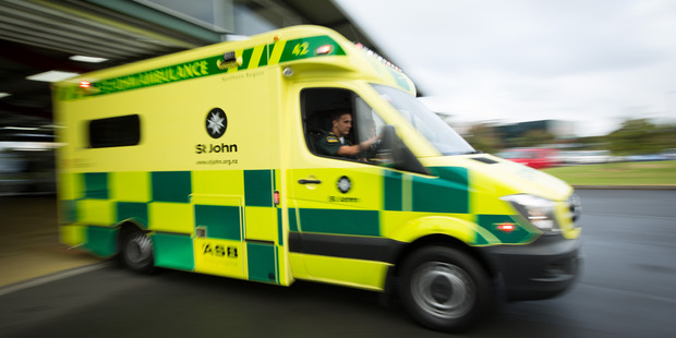 A St John paramedic stablised the patient at the scene. Photo / File