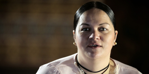 Loading Lifelong Local Body election non-voter Hinekia Fitzgerald is the face of the New Zealand Herald's #WillSheVote? campaign. Photo / Michael Craig