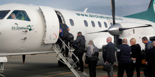 Two months in and Air Chathams says passenger numbers through Whanganui were climbing. Photo/Bevan Conley.