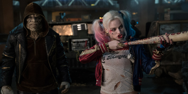 A scene from the movie, Suicide Squad.