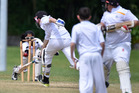 Action from last season's colts junior secondary final day as Greerton wicketkeeper Nensi Patel removes the bails. PHOTO/FILE