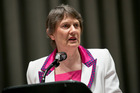 Helen Clark's story of achievement is one of struggle and constantly pushing the boundaries. Photo / UN