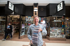 Roger Marbeck, owner of Marbecks Music Store on Queen St. Photo / Jason Oxenham