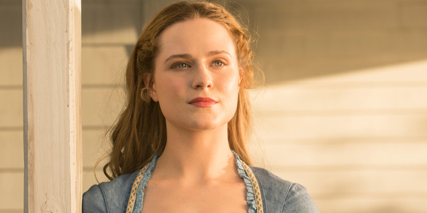 Loading Evan Rachel Wood cried after filming Westworld with Sir Anthony Hopkins as she was happy reaching a big milestone in her life. Photo / HBO