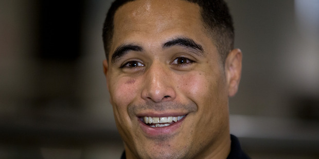 UNDER FIRE: Aaron Smith has been stood down after a bathroom incident at Christchurch Airport. PHOTO FILE