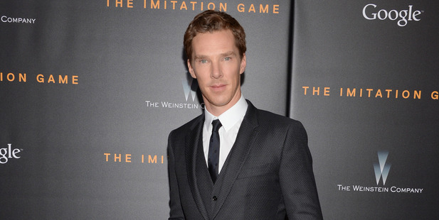Actor Benedict Cumberbatch. Photo / AP