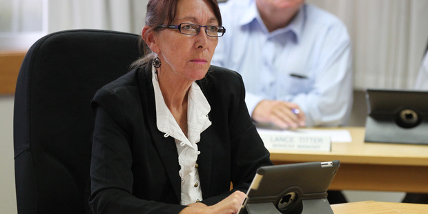 ELECTION WAIT: Cr Michelle Pyke, whi has missed out on re-election according to preliminary results. PHOTO/FILE