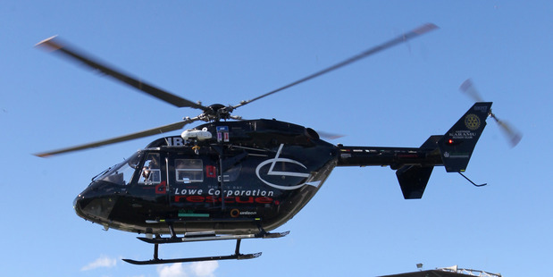 A young boy was airlifted to Hawke's Bay Hospital yesterday after a mountain bike accident. PHOTO/FILE