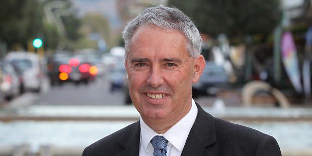 Lawrence Yule, mayor of Hastings. Photo / Duncan Brown