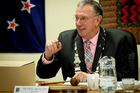 GOOD MIX: Outgoing CHB mayor Peter Butler says he's not surprised to see a lot of new faces at CHB District Council